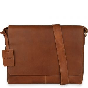 8c0579a21a1 Burkely Antique Avery Laptoptas Cognac 15.6 inch - Trendsmode.nl