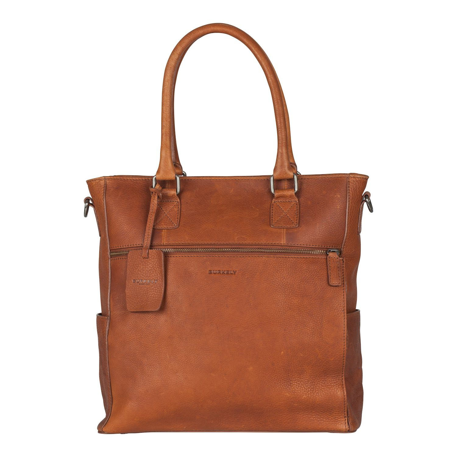 e271f15a170 Burkely Antique Avery Shopper Cognac 13.3 inch - Trendsmode.nl