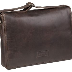 87bebbd0654 Laptoptas Burkely Leren Laptoptas 17 inch Fundamentals Vintage Max ...