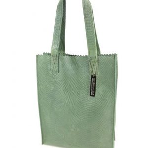 6f7d51345a0 ... MY PAPER BAG LONG HANDLE ZIP - ANACONDA SEA GREEN ...