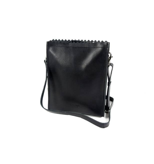 343af18a748 MY PAPER BAG BAGGY MEDIUM - HUNTER WAXY BLACK - Trendsmode.nl