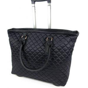 c3670376fd5 Modieuze Damestas Travelbag trolley PARK AVENUE zwart