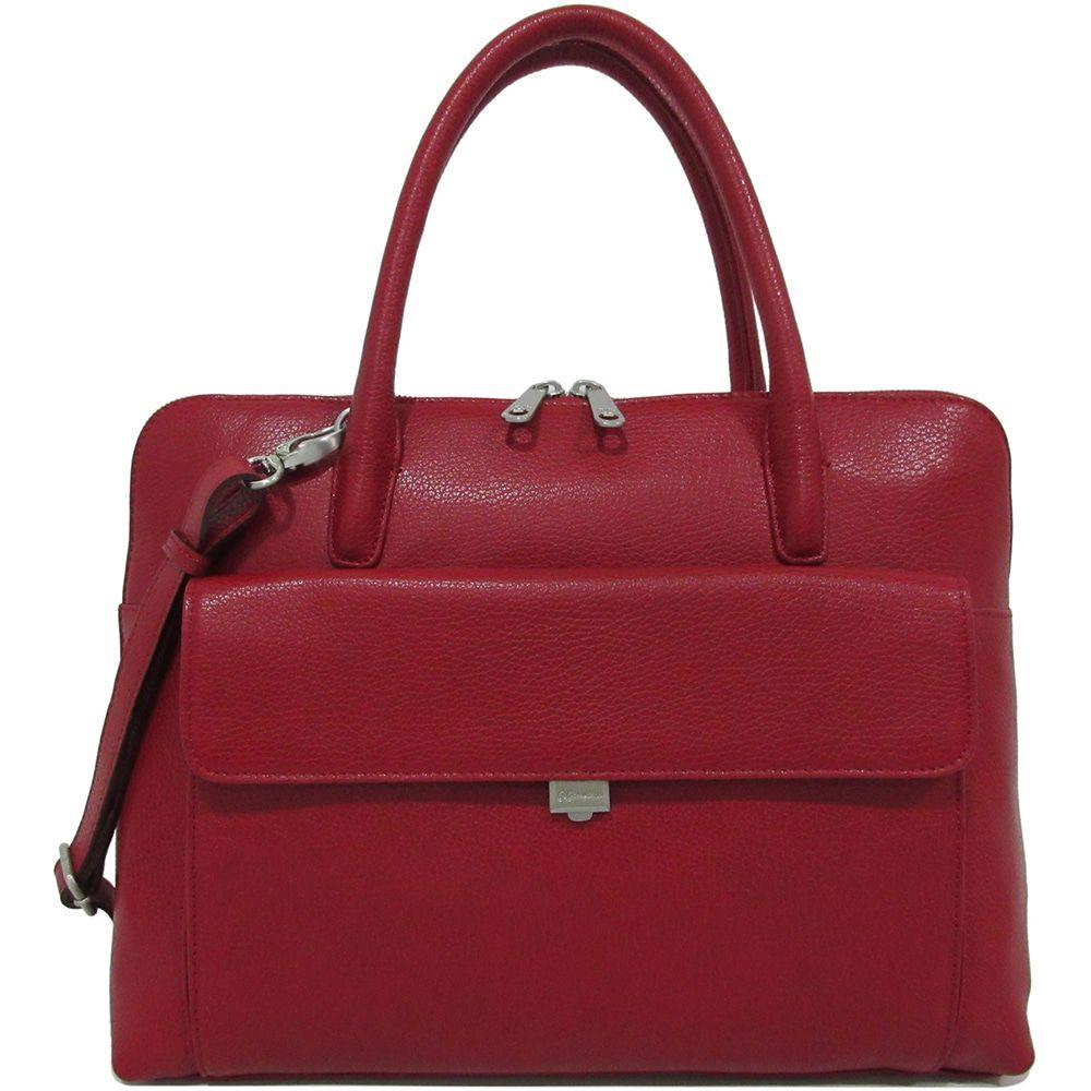 8fa53c36697 Laptoptas Gigi Fratelli Dames Leren Laptoptas 13.3 inch Romance Business  ROM8013 Rood