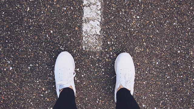 sneakers dragen